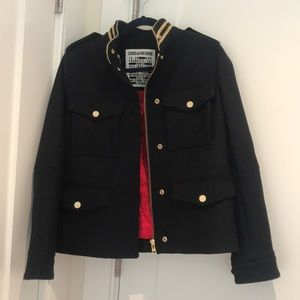 Wool military style jacket from Paris
